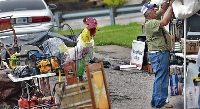 The 400 Mile Yard Sale comes through Mason County | Ledger
