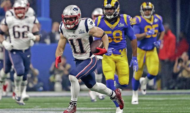 8e9245e017bf DEFENSE DOES IT: Patriots stop Goff, Rams' offense in Super Bowl win ...