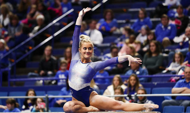 "b72b228f6988 Not competing ""weird"" for UK gymnast Hyland 