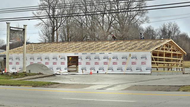 Village Building Nearing Completion Ledger Independent Maysville