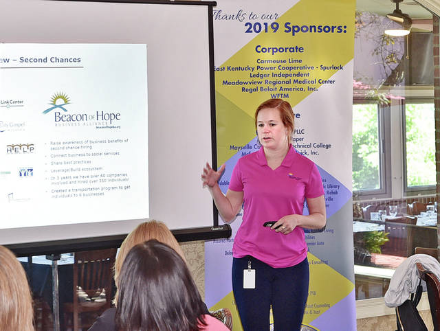 Second chance hiring discussed at luncheon