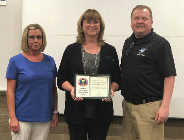 RULH Local School District recognizes local firm for support