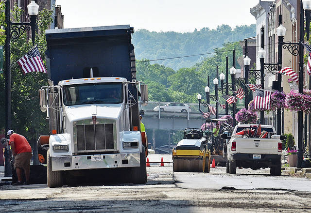 Downtown projects on track for Labor Day completion