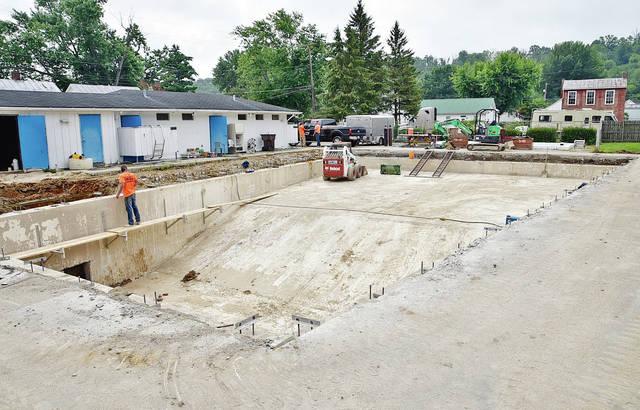 Augusta pool renovations underway
