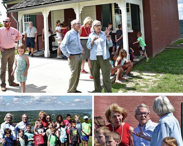 Gov. DeWine visits Rankin House, promotes tourism