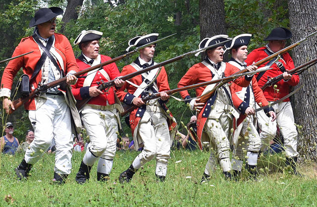 Battle of Blue Licks reenactment this weekend