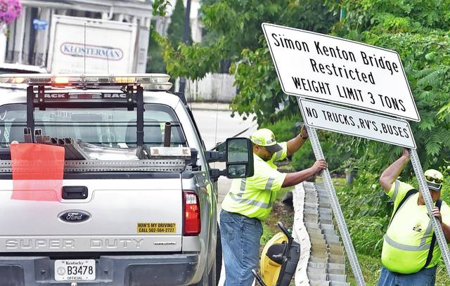 Motorists reminded of bridge closing