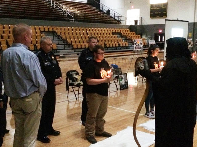 FCHS 'Ghost Out' informs students on impaired driving