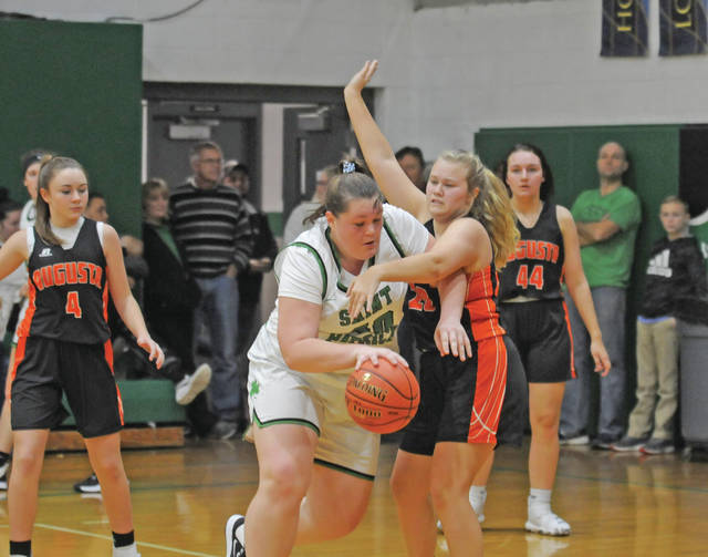Lady Saints stifle Lady Panthers in second half