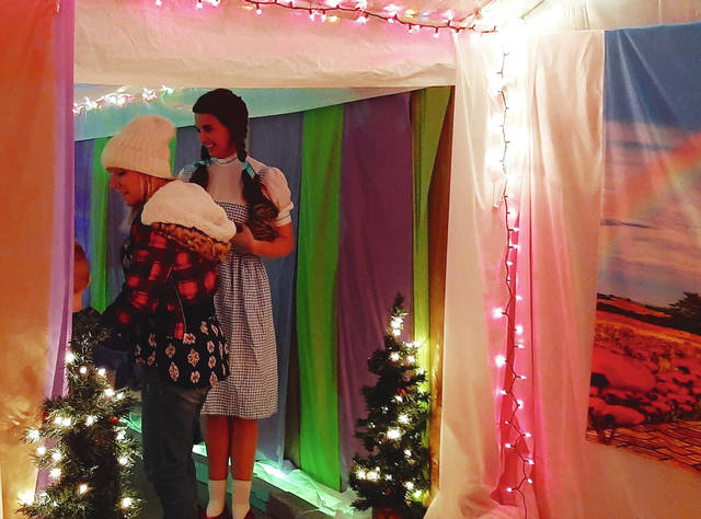 Santa Lane shows children the magic of Christmas