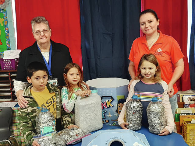Straub students collecting tabs for charity