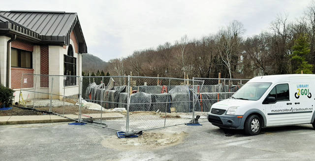 Library construction underway in Maysville