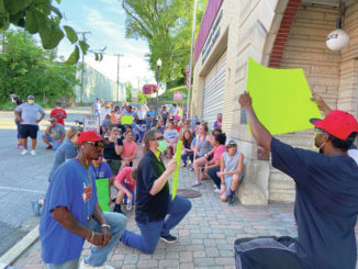 Protest march held in Flemingsburg