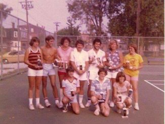 This week's Throwback pic is of the Augusta tennis league winners from the 1970's. Pictured in back row, left to right: Kelly Fraysure, George Clooney, Connie Appleman, Ronnie French, Ty Foxworthy and Joanne Stapleton. Front row, left to right: Mike Hay, Rusty Muse and Vicki Foxworthy. (Submitted by Ron Bailey)