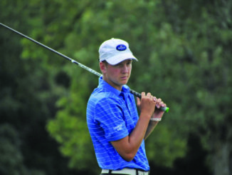 Lewis County's Logan Liles earned himself another top-five finish on the Kentucky PGA Junior Tour, this one coming at the Kentucky Boys Junior Amateur with a 36-hole score of four-under-par at Boones Trace National Golf Course in Richmond. (Evan Dennison, The Ledger Independent)