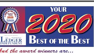 2020 Best of the Best Winners