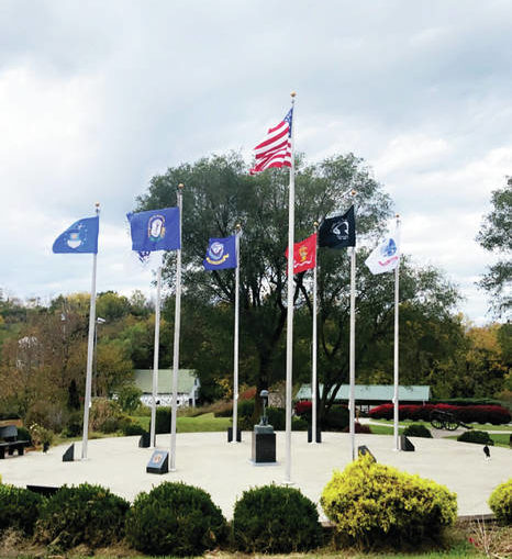 Flags return to Veterans Memorial Park