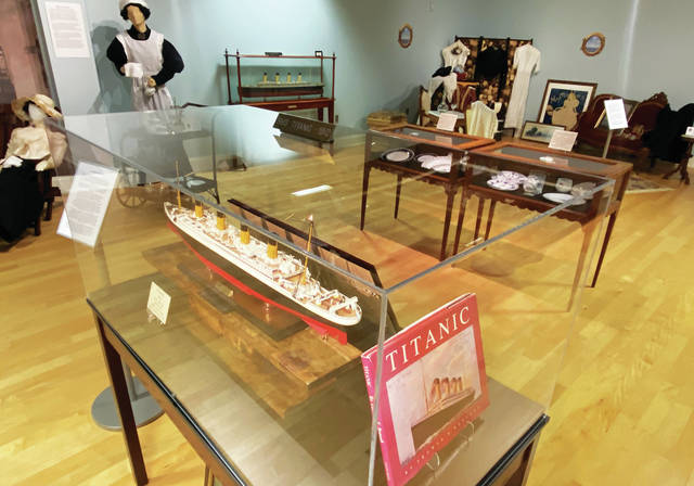 Ocean Liner exhibit on display at KYGMC