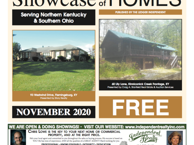 November Showcase of Homes