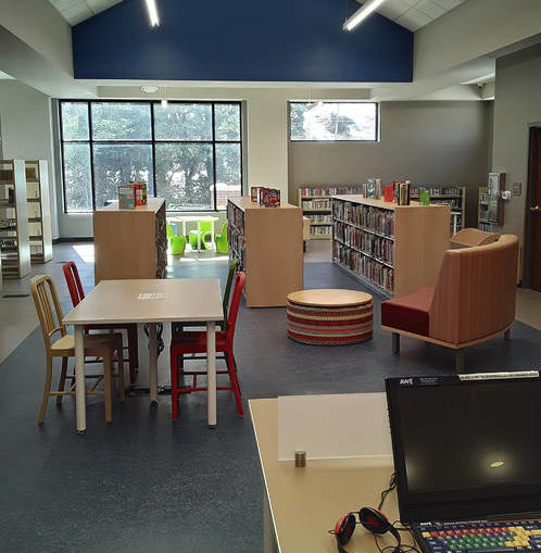 Library reopens to inside service