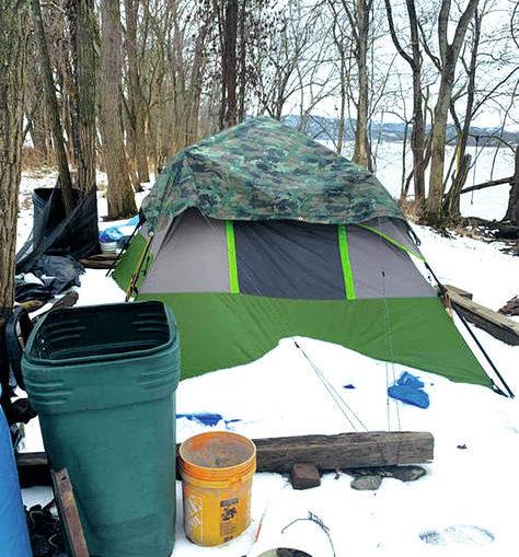 Homeless encampment stirs controversy