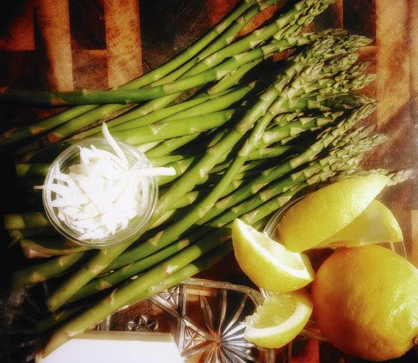 Jamais un mauvais moment pour déguster des asperges