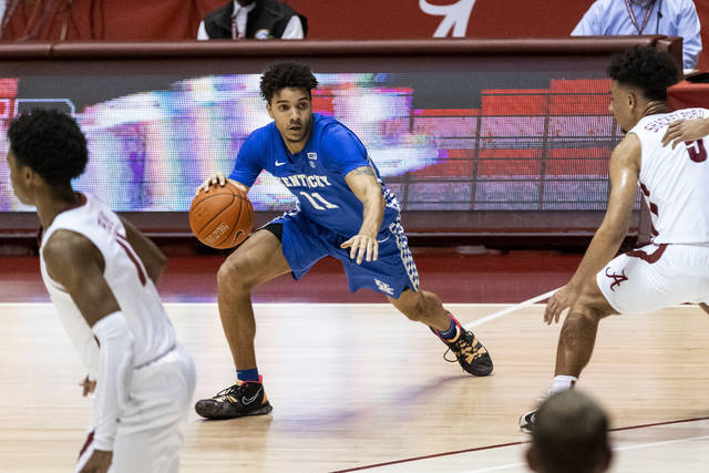 """Dontaie Allen envisions """"great finish"""" at UK"""