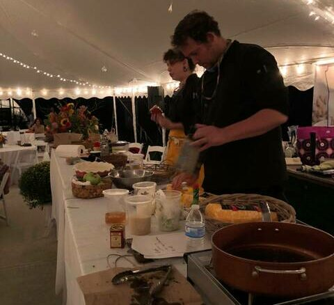 Alex and Babz Goldman Nartowicz were among the featured chefs at Seasons magazine's first Marketplace and Cook Show on Sept. 16.