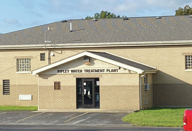 The current Ripley Water Treatment plant is in need of repairs.